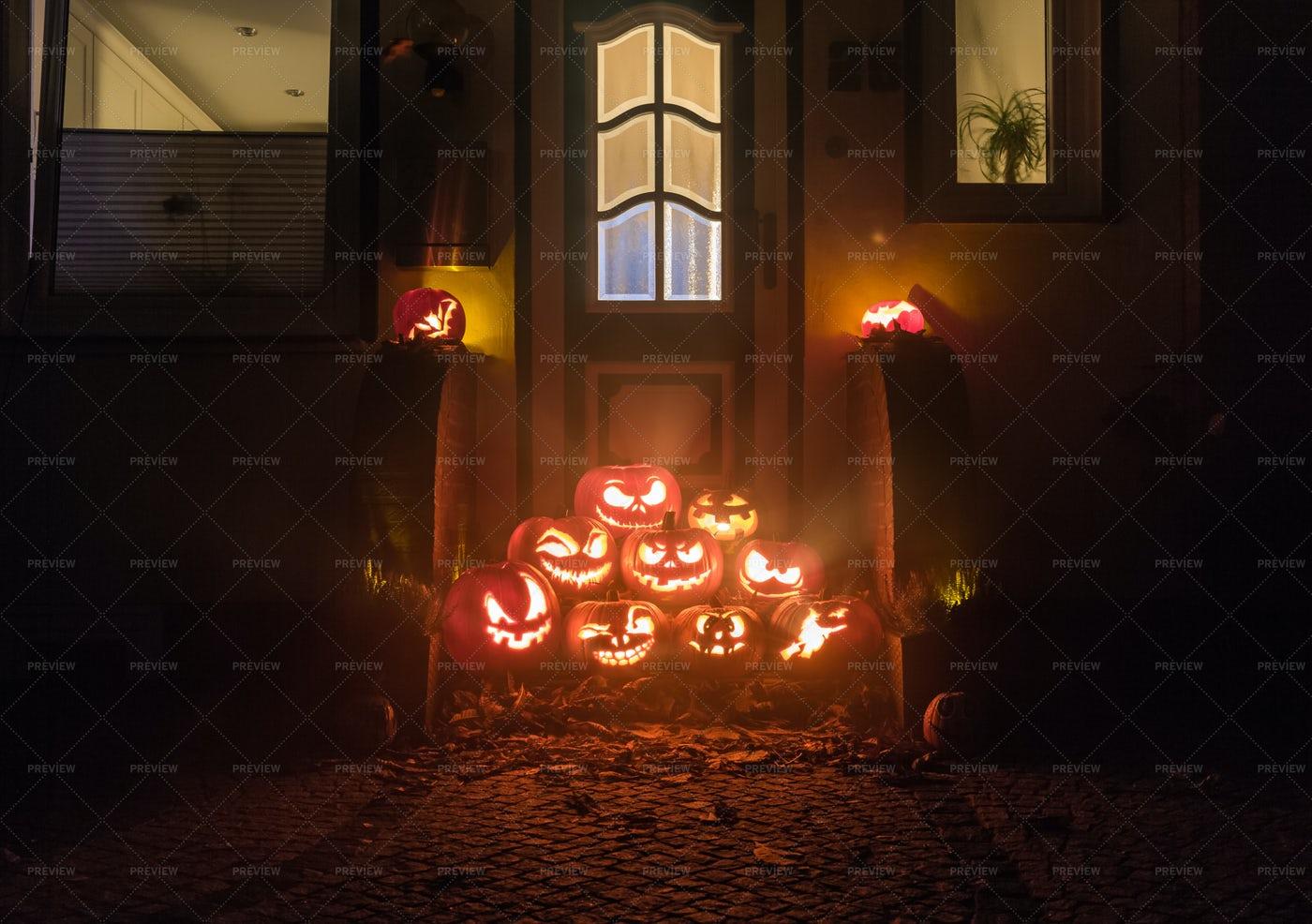 Halloween Pumpkins: Stock Photos