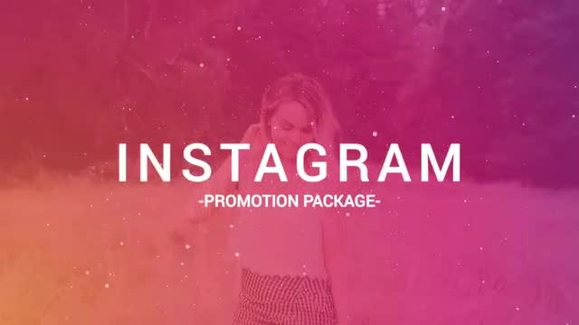 Instagram Promotion Package: After Effects Templates