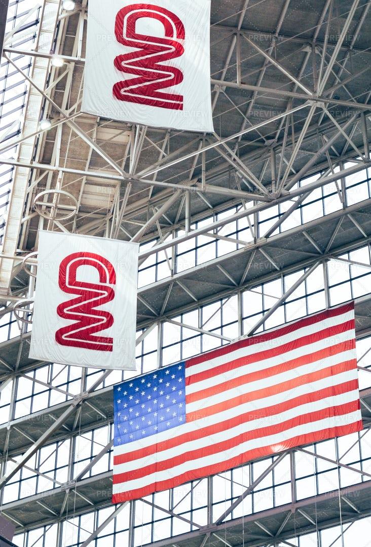 CNN Center, Atlanta, Georgia: Stock Photos