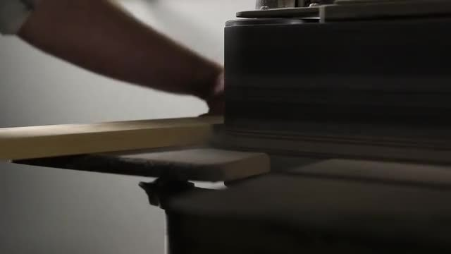 Carpenter Using A Belt Sander : Stock Video