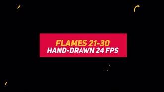 Liquid Elements 2 Flames 21-30: Stock Motion Graphics