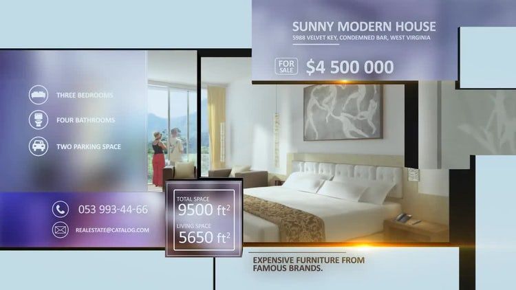 Real Estate Catalog: After Effects Templates