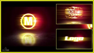 Fiery Glitch 3D Logo: Premiere Pro Templates