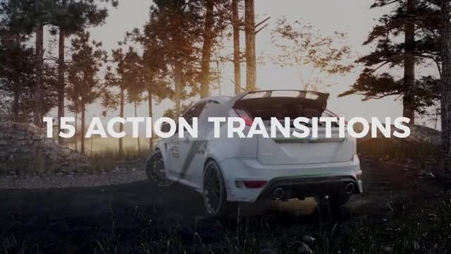 Dynamic Action Transitions: Premiere Pro Templates