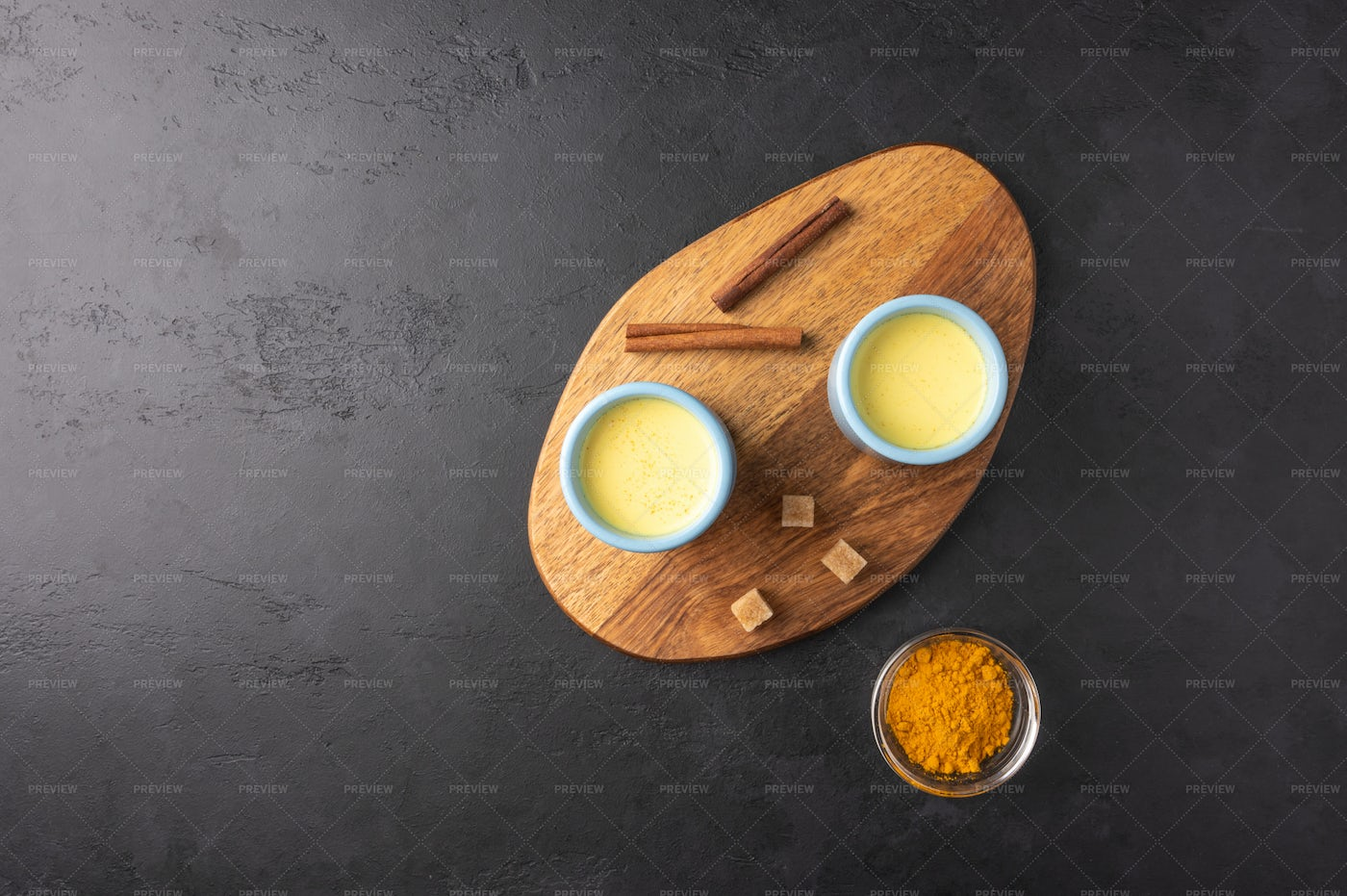 Ceramic Cups And Spices: Stock Photos