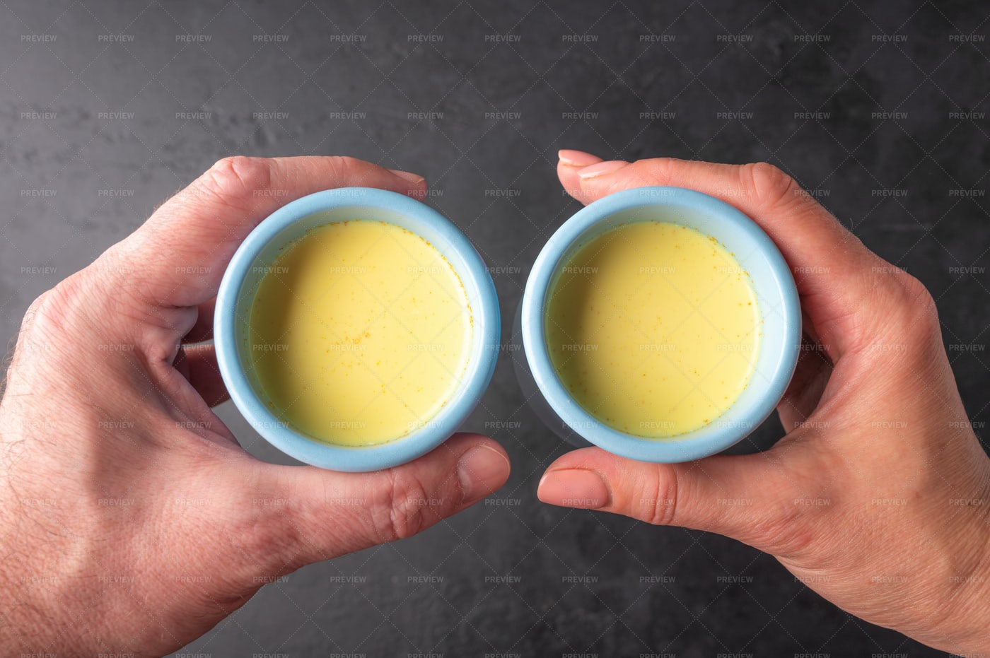 Hands Holding Chai Tea: Stock Photos