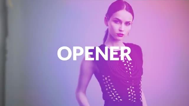Fashion Dynamic Media Opener Logo: Premiere Pro Templates