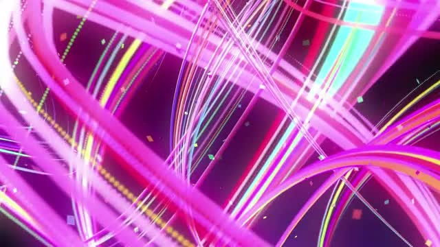 Zooming Light Streaks: Stock Motion Graphics