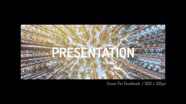 Cover For Facebook: Premiere Pro Templates