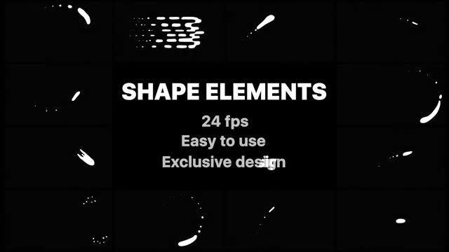 Cartoon Liquid Shapes: Stock Motion Graphics