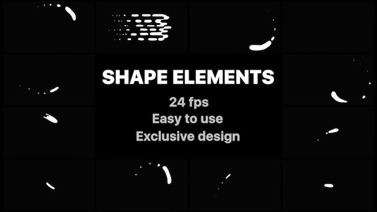 Cartoon Liquid Shapes: After Effects Templates