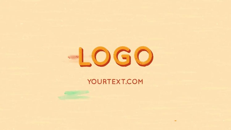 Cartoon Grunge Logo And Title: After Effects Templates