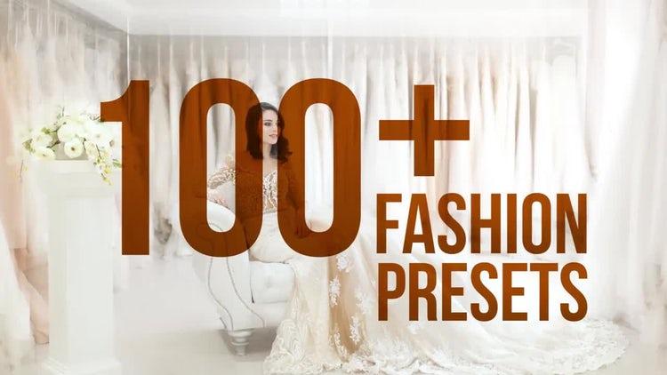 Fashion Presets: Premiere Pro Presets
