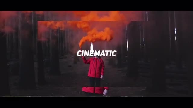 Cinematic Slideshow Opener: Premiere Pro Templates
