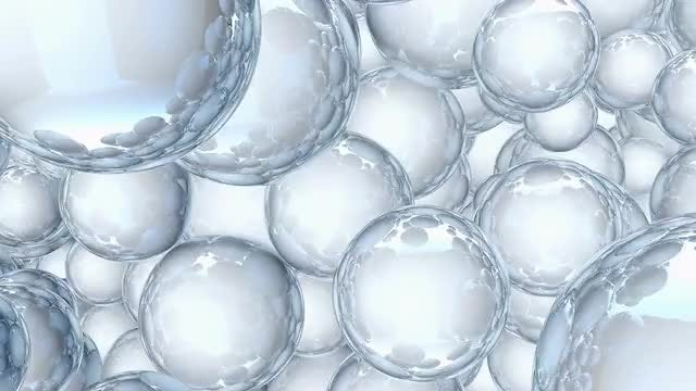 Pulsating Balls: Stock Motion Graphics