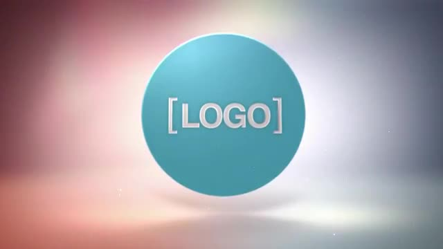 Logo disc After effects template