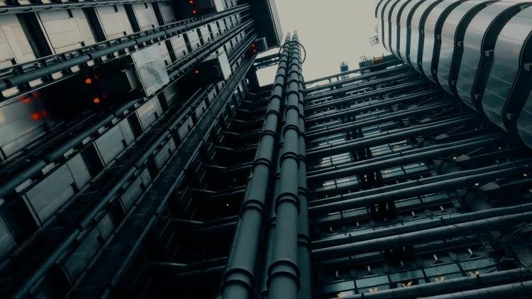 Lloyd's Building In London: Stock Video