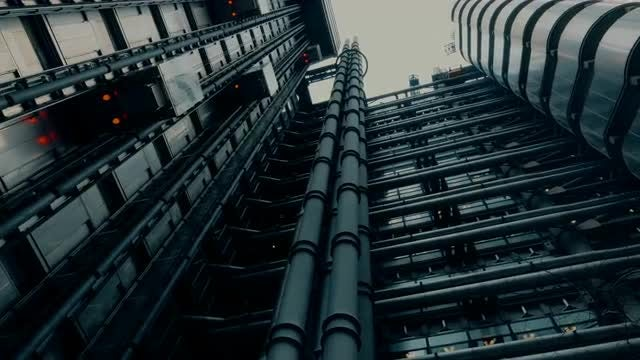 Lloyd's Building In London: Stock Video
