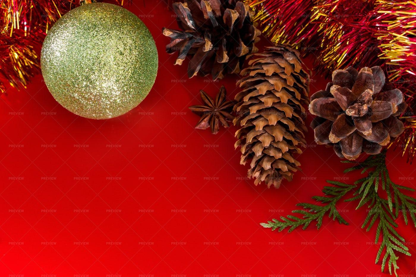 Festive Christmas Background: Stock Photos