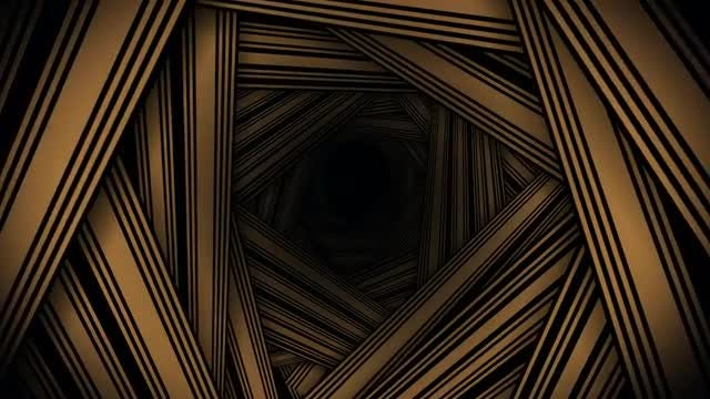 Brown Stripe Tunnel VJ Background: Stock Motion Graphics
