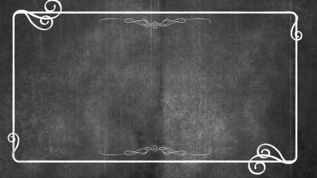 Silent Film Opening Background: Stock Motion Graphics