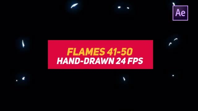 Liquid Elements 2 Flames 41-50: After Effects Templates