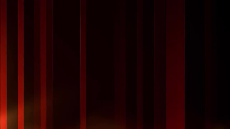 Red Vertical Bars: Motion Graphics