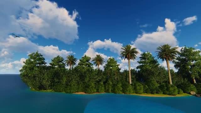 The Island: Stock Motion Graphics
