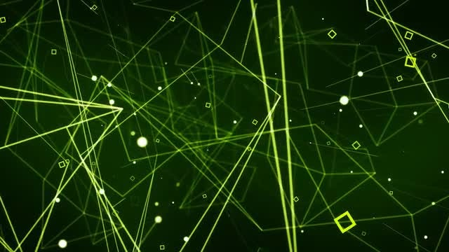 Digital Connected Background: Stock Motion Graphics