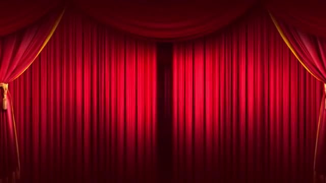 Curtain Stage Background: Stock Motion Graphics