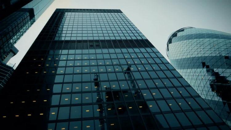 POV Shot Of Buildings In London: Stock Video