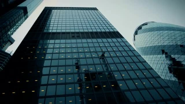 POV Shot Of Buildings In London: Stock Video