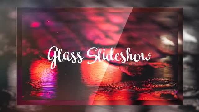 Glass Slideshow: Premiere Pro Templates
