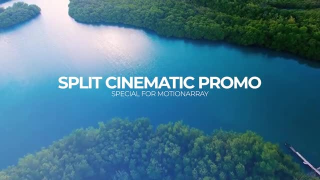 Split Cinematic Promo: Premiere Pro Templates