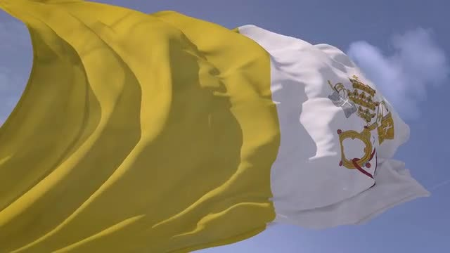 Vatican Flag: Stock Motion Graphics