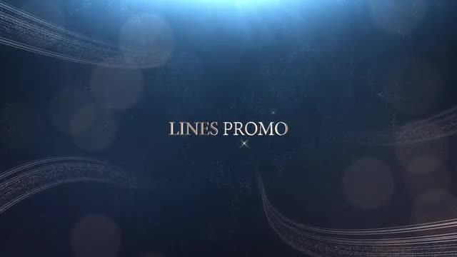 Elegant Lines Promo: After Effects Templates