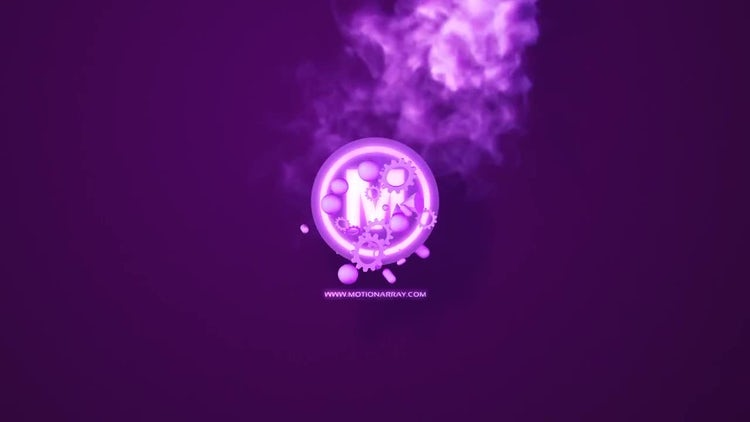 Colorful smoke logo: After Effects Templates