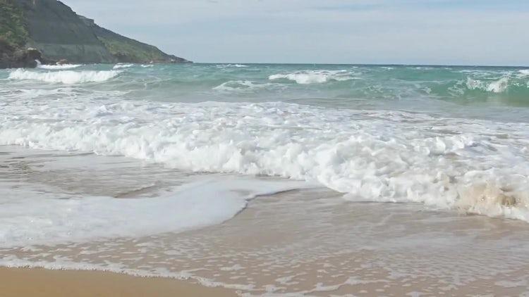 Sea And Beach: Stock Video