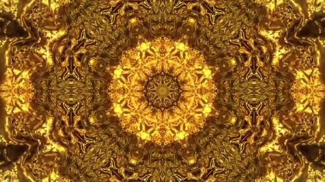 Gold Splash Background: Stock Motion Graphics