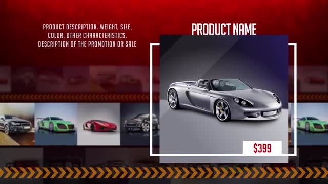 Product Presentation 4K: After Effects Templates