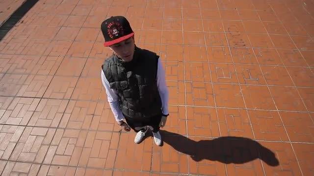 Hip Hop Dancer: Stock Video
