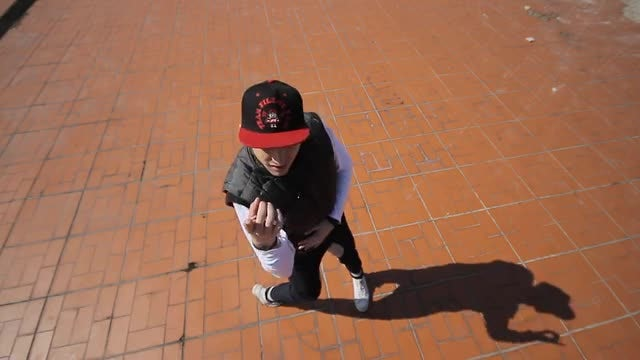 Hip Hop Dancer: Stock Video