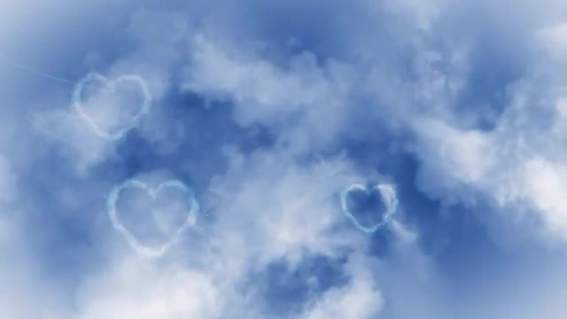 Love In The Sky: Stock Motion Graphics