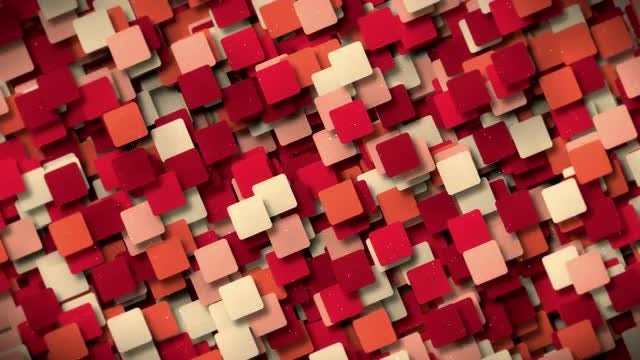 Square Shape Background: Stock Motion Graphics
