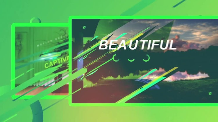 Abstract Glitch Design: After Effects Templates