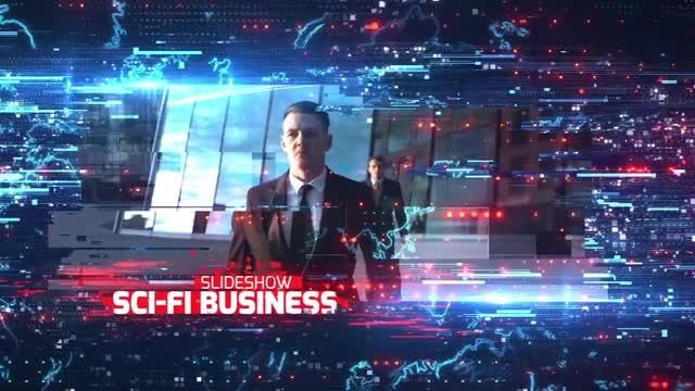 Sci-Fi Business Slideshow: After Effects Templates