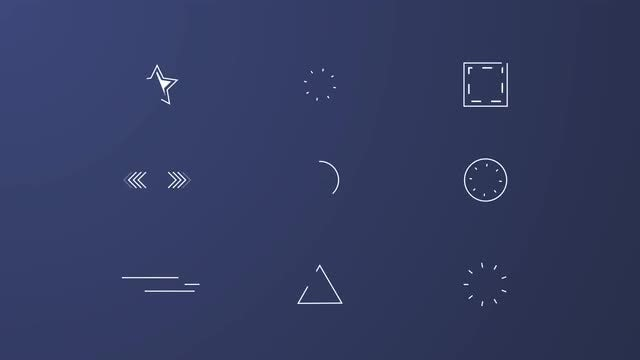 30 Shape Elements: After Effects Templates
