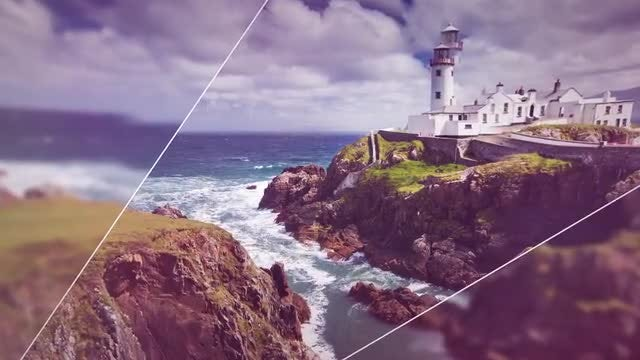 Quick Cinematic Slideshow: After Effects Templates