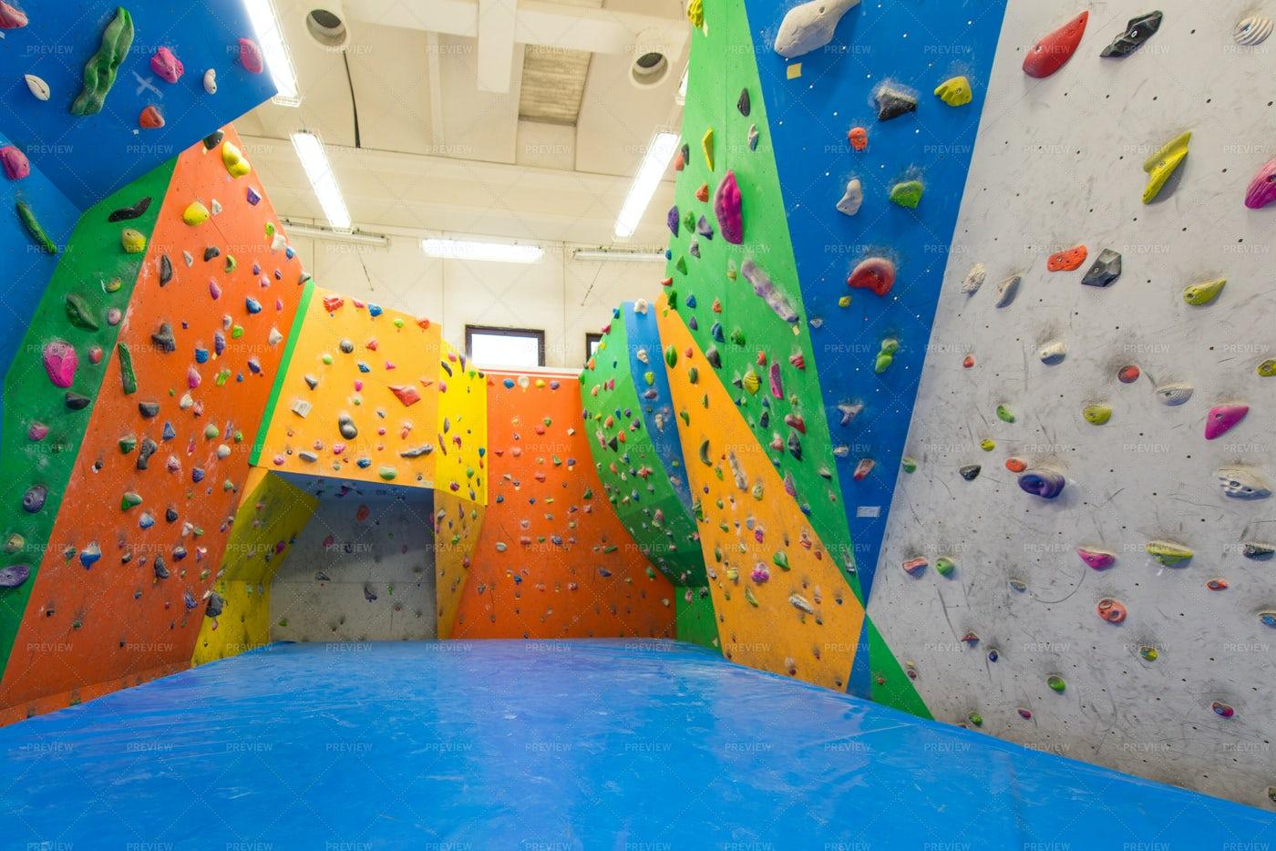 Indoor Climbing: Stock Photos