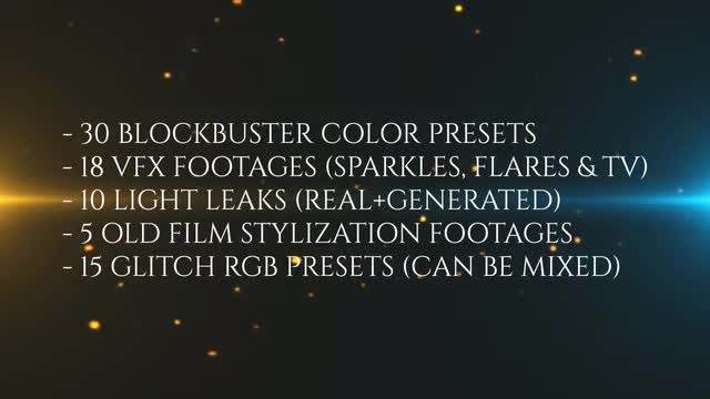 Blockbuster Post-Production Pack: Premiere Pro Presets